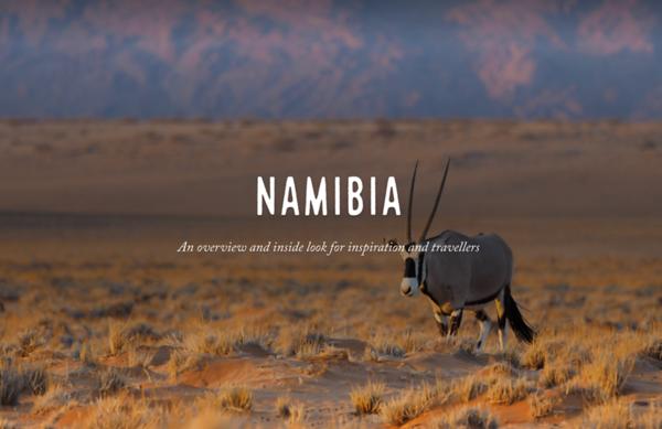 Namibia Destination Guide