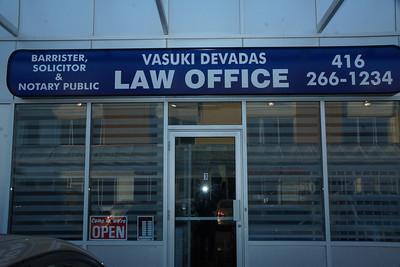 Vasuki Devadas Law Office Grand Opening 02 Apr 2014