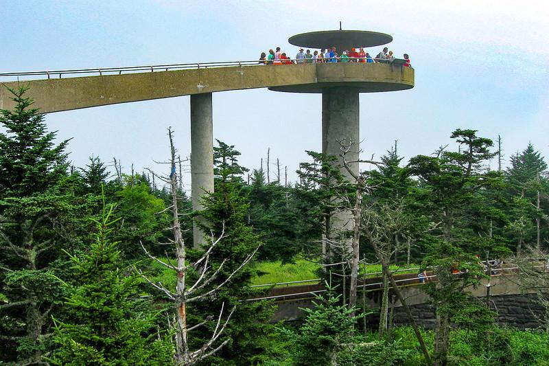 Clingman's Dome Summit - 6,643'