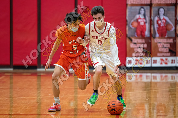 North Attleboro-Oliver Ames Boys Basketball - 02-10-21