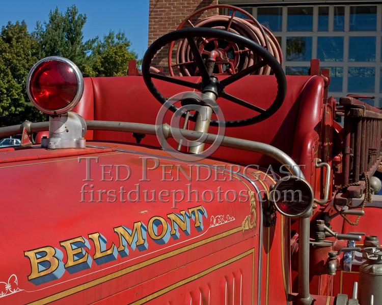 Antique Belmont,Mass. 1930's American LaFrance Pumper