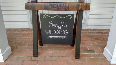 Sam & Mo get married May 2019