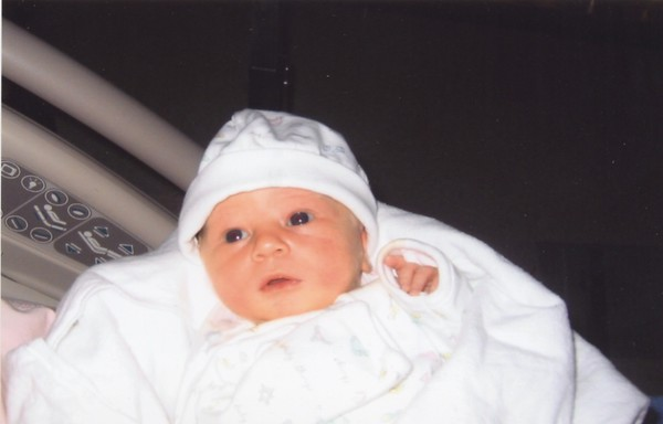 Claire's Birth Sept 23, 2003