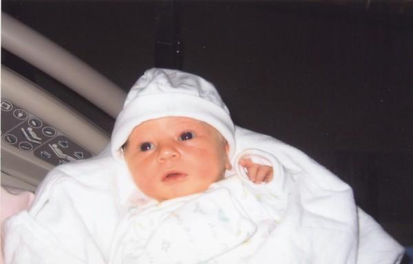 Claire's Birth Sept 23, 2003