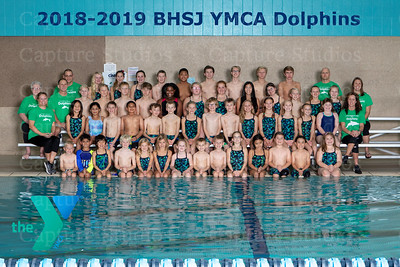 2018-2019 BHSJ YMCA Dolphin Swim Team