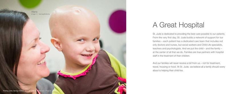 2014 ALSAC/St. Jude Annual Report