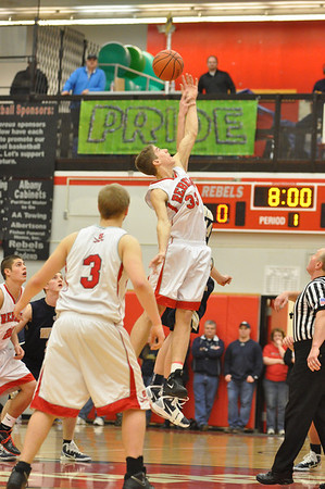 South Albany vs. West Albany Boys High School Basketball