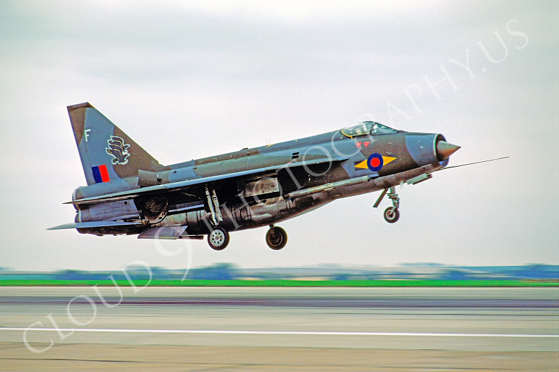 BAC Lightning 00004 BAC Lightning British RAF 24 August 1978 by Stephen W D Wolf .JPG