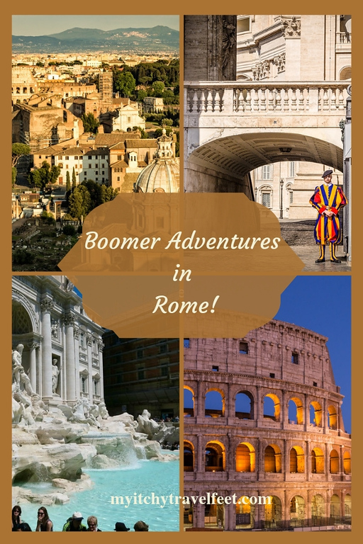 Boomer Adventures in Rome, Italy