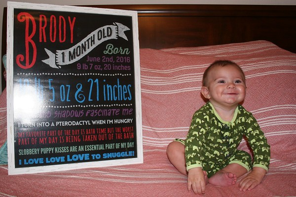 Brody Month 5