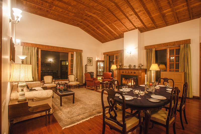 Dining and Living Room of a heritage property