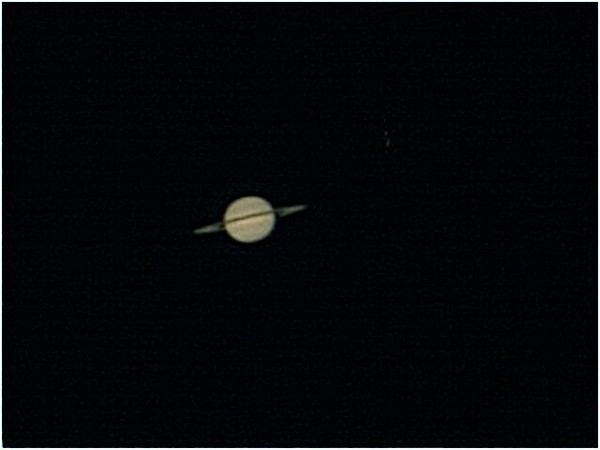 Another attempt at Saturn using a Phillips webcam but seeing conditions were not good. My processing skills need to be improved though lol.