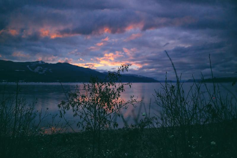 Shuswap Lake Christmas Evening