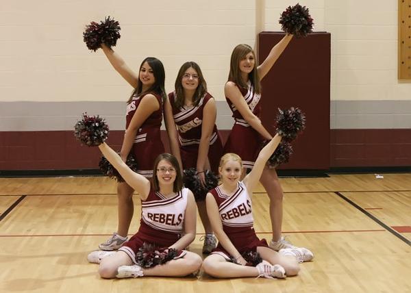 SN MS Cheerleading Team 07-08