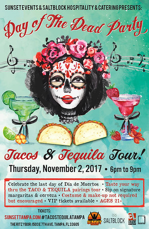 Tacos & Tequila Day of the Dead Party