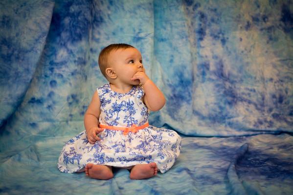 Mia 9 month shoot