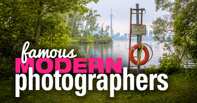 World most famous modern photographers