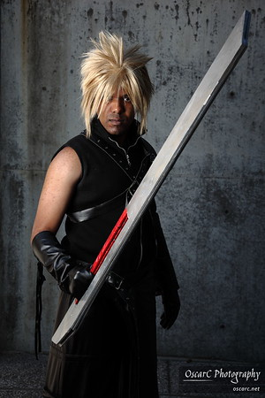 Cloud Strife (J Ryoga) from Final Fantasy VII: Advent Children