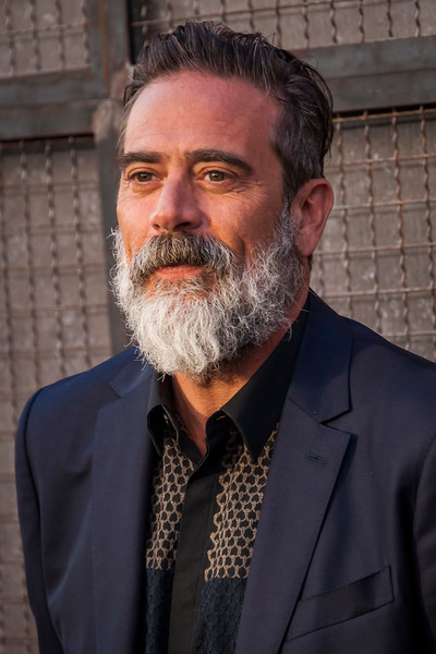 LOS ANGELES, CA - APRIL 04: Jeffrey Dean Morgan arrives at the Premiere Of Warner Bros. Pictures' 'Rampage' at Microsoft Theater on Wednesday April 4, 2018 in Los Angeles, California. (Photo by Tom Sorensen/Moovieboy Pictures)