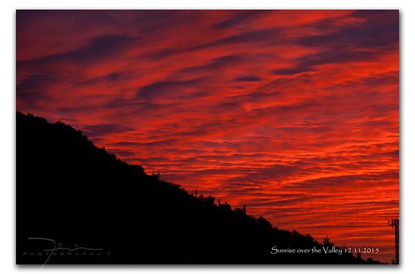 Sunrise 12.11.2015