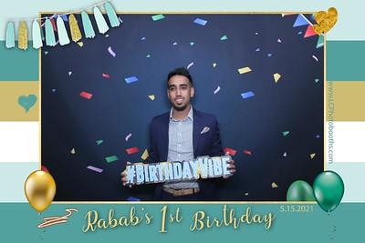 Rabab's 1st Birthday Party