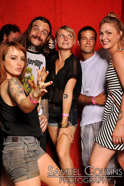 Tsunami Tattoo's 10 Anniversary Party - in the photobooth