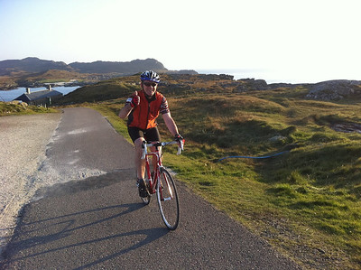 Bicycling Scotland's Highlands