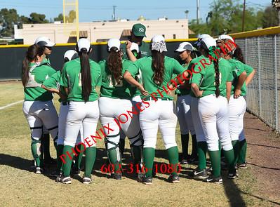 3-16-2016 - Cactus Shadows @ St. Mary's - Softball Game
