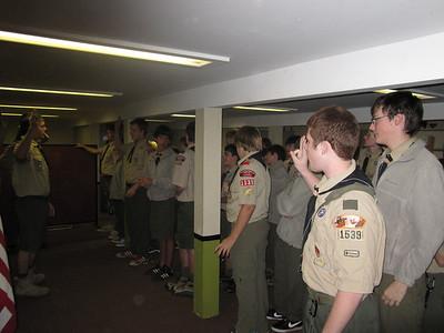 Troop Meeting - Oct 17
