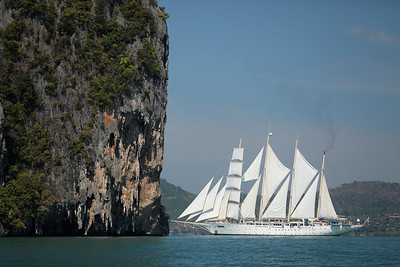 S/V Star Clipper: Singapore to Phuket