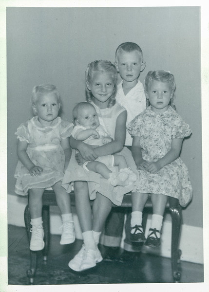 Dorthy, Garth, Georgia, Vivian 0 1 year old, John