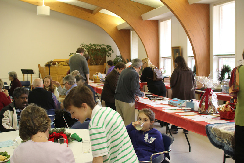 lots of action at the silent auction tables - a wonderfully diverse group of items and a record number of homes offered.