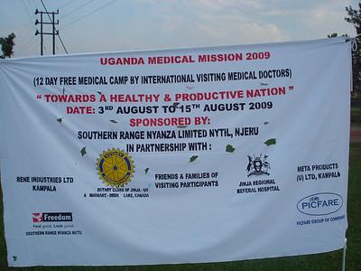 2nd Uganda Medical Mission day 1