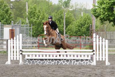 Ring III: Pre-Children's Hunter/Equitation Horse/Bit O'Straw