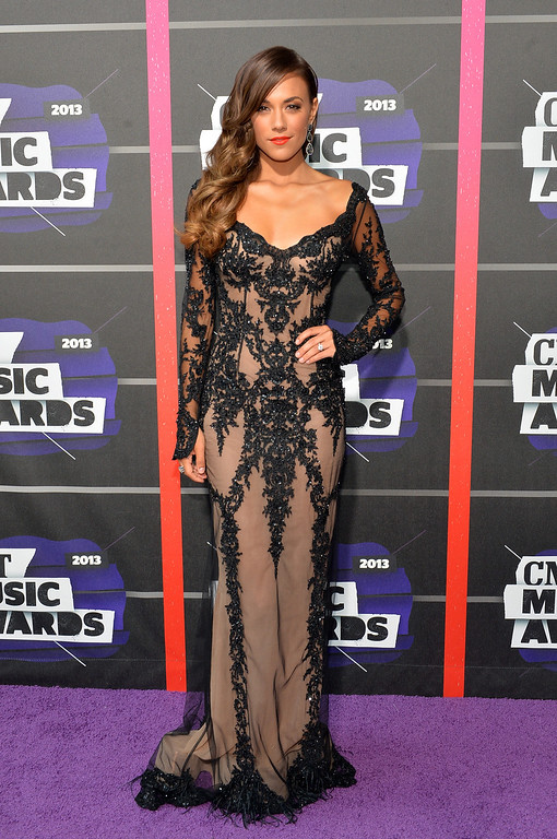 . NASHVILLE, TN - JUNE 05:  Jana Kramer attends the 2013 CMT Music awards at the Bridgestone Arena on June 5, 2013 in Nashville, Tennessee.  (Photo by Rick Diamond/Getty Images)