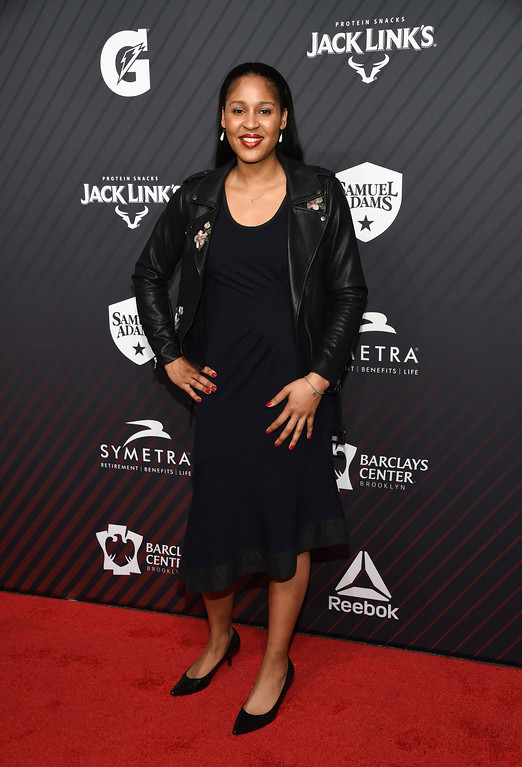 . Performer of the year honoree Maya Moore attends the Sports Illustrated 2017 Sportsperson of the Year Awards at the Barclays Center on Tuesday, Dec. 5, 2017, in New York. (Photo by Evan Agostini/Invision/AP)