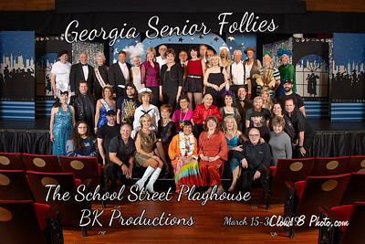 Georgia Senior Follies - Cast Photos
