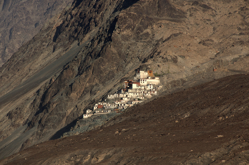Disket Monastery in Nubra Valley, Ladakh