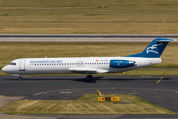 4O-AOM - Fokker F100