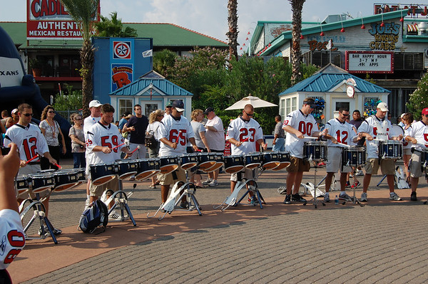 Kemah 2008 Houston Texans kickoff party