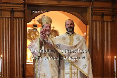 Ordination to Priesthood of Fr. James Honeycutt