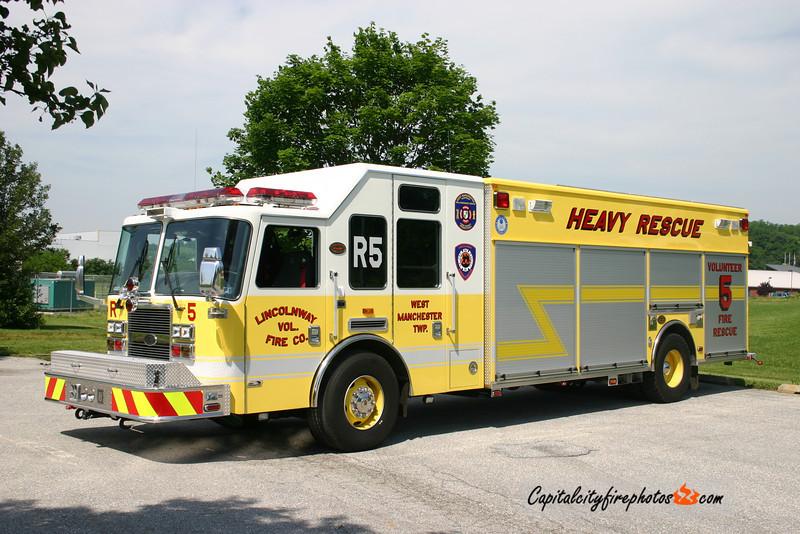 Lincolnway Rescue 5: 2007 KME Predator