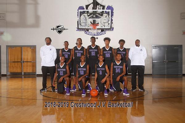2018-2019 Boys JV Basketball