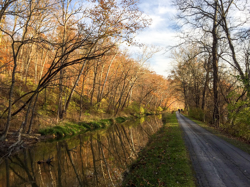 Towpath Trail in CVNP
