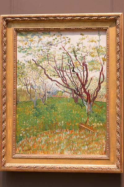 Vincent van Gogh, The Flowering Orchard, 1988 -- Metropolitan Museum of Art, New York