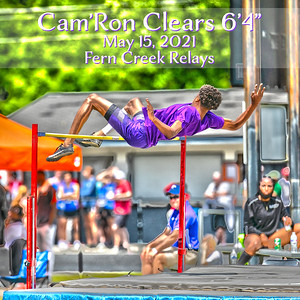 """Cam-Ron Clears 6'4"""""""