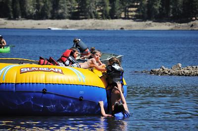 Jackson Meadow Reservoir, Tahoe, California, August 11