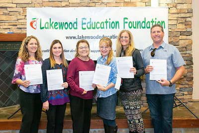 Lakewood Education Foundation Awards Ceremony - November 15, 2018