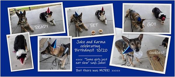 2020.10.20 Jake Karma birthdays