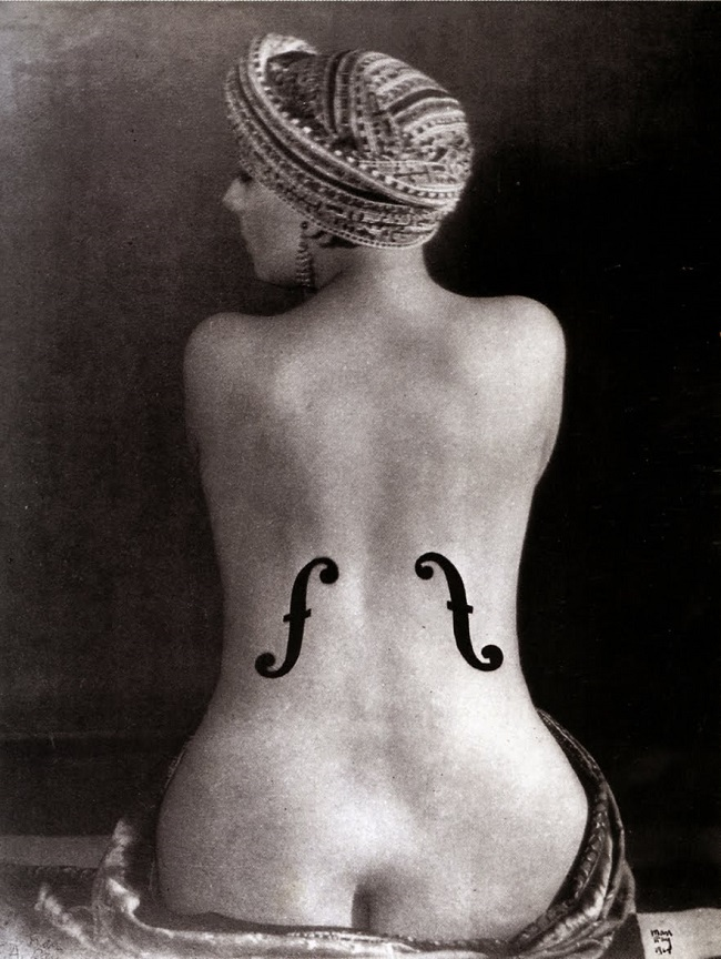 Man Ray - Le Violon d'Ingres (1924)